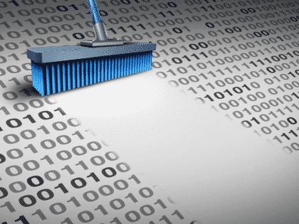 removing duplicate data