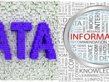 what is the diffference between data and information image