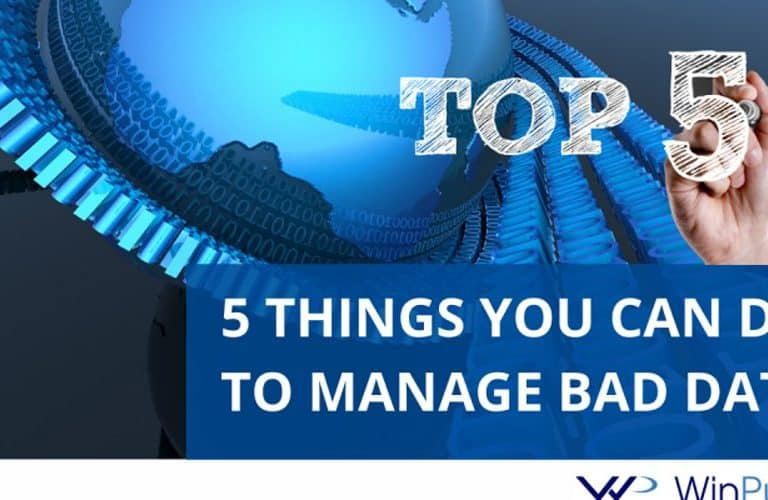 5 Things You Can Do to Manage Bad Data